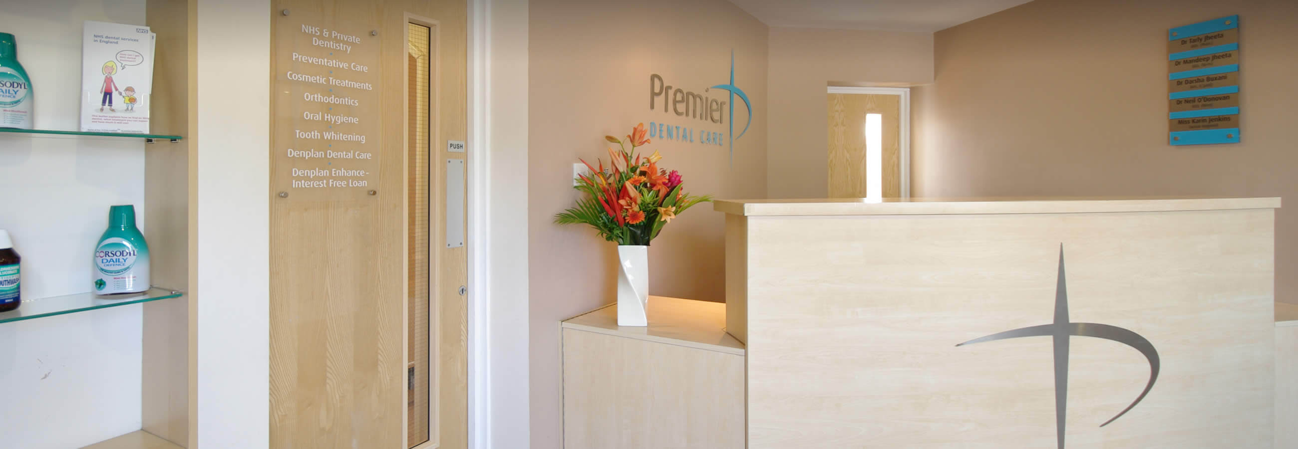Meet the Premier Dental Care team